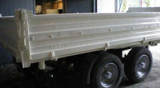 LKW-Seitenkipper