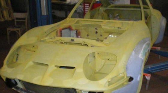 Opel GT - Steinmetzumbau