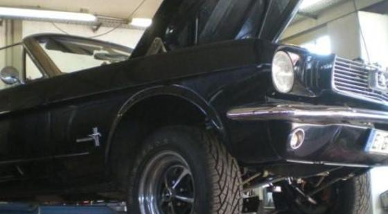 Motortuning auf 450PS - Ford Mustang